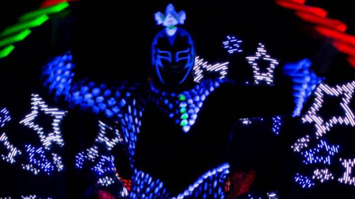 Лазерное Шоу на мероприятие